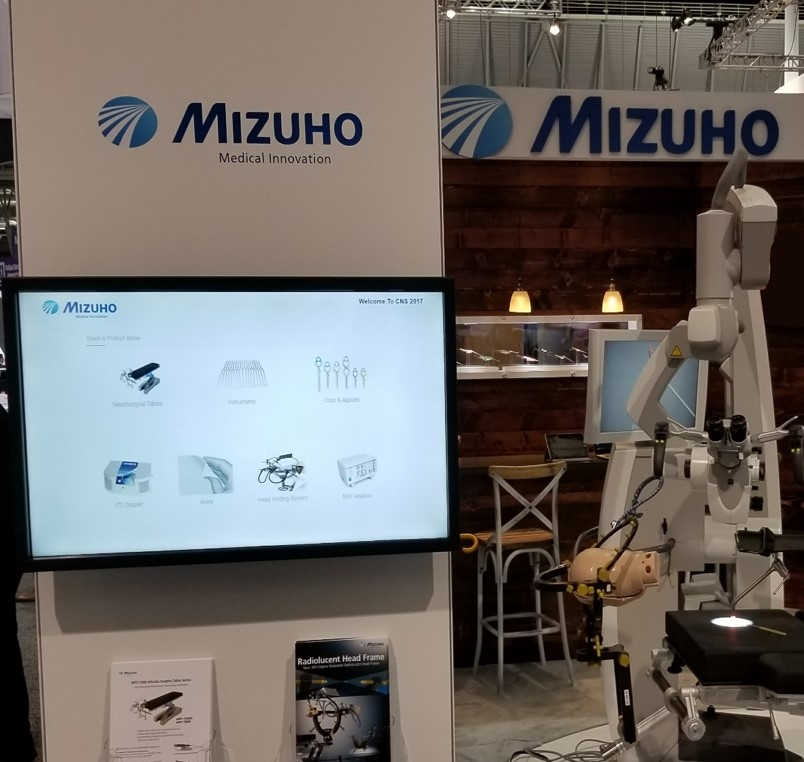 Mizuho Product Catalog used at CNS 2017 in Boston